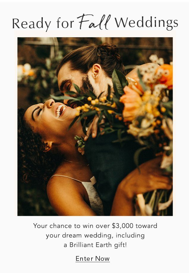 Enter now for your chance to win over $3,000 toward your dream wedding!