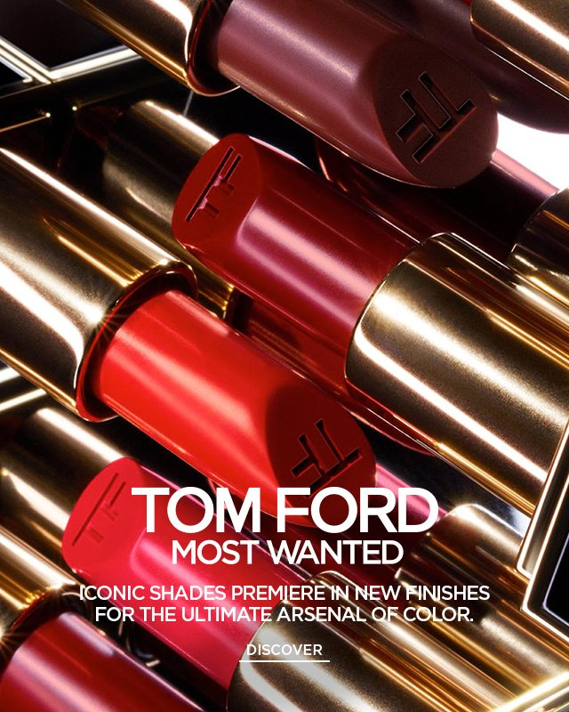 TOM FORD MOST WANTED LIP. DISCOVER.