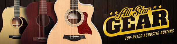 All-Star Acoustic Guitars