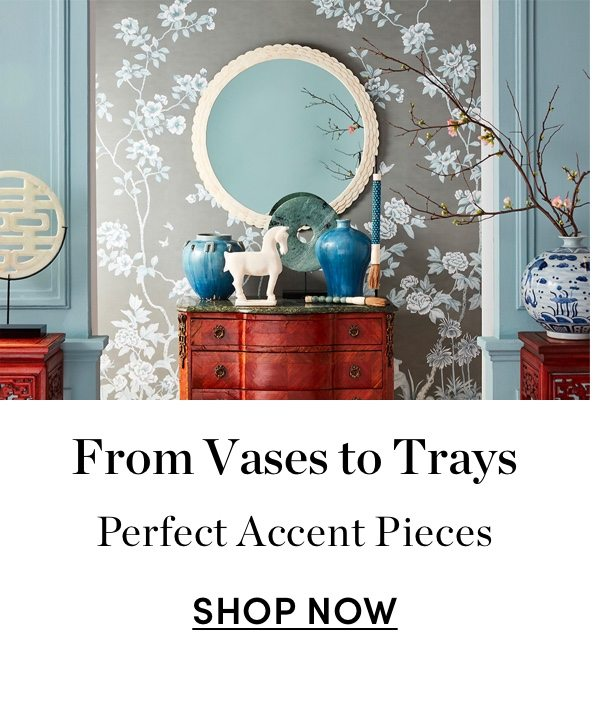 From Vases to Trays