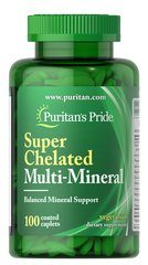 Super Chelated Multi Mineral with Zinc