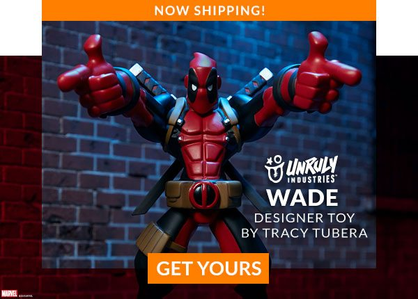 Wade Designer Toy by Tracy Tubera (Unruly Industries)