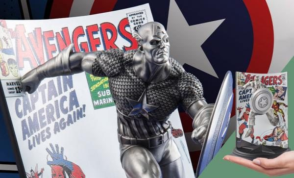 Captain America The Avengers #4 Pewter Collectible by Royal Selangor