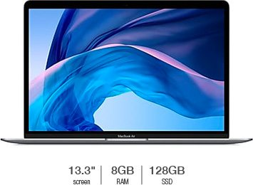 MacBook Air with Retina Display featuring 1.6GHz Dual-Core Intel Core i5 Processor