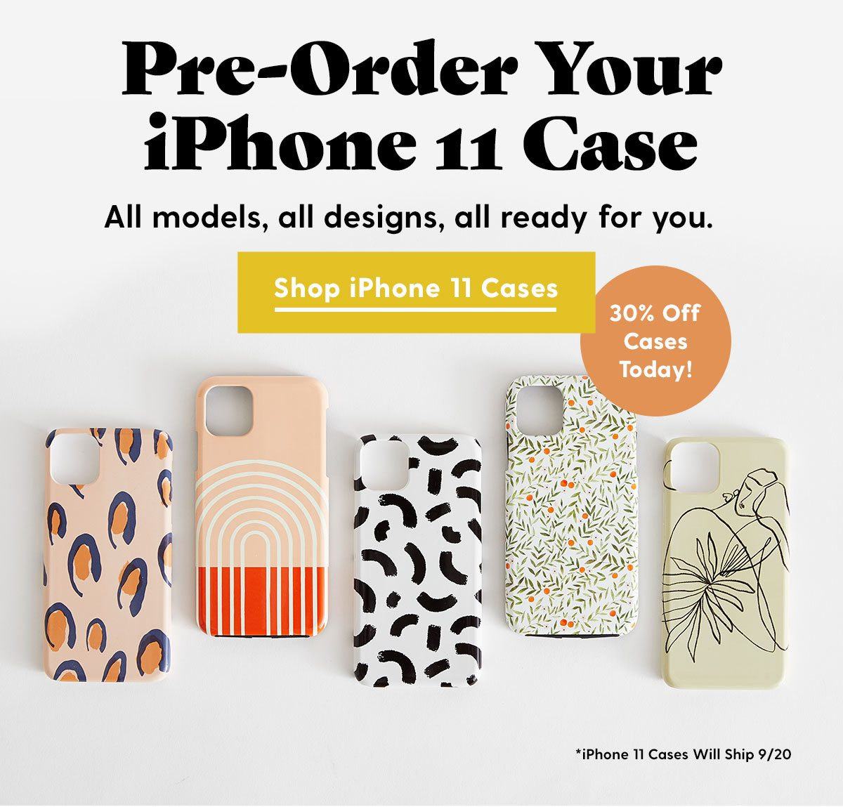 Pre Order Your iPhone 11 Case