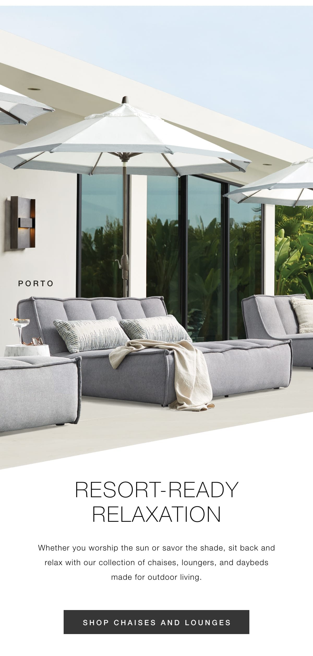 Shop chaises and lounges