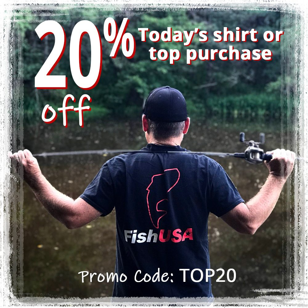 20% off Today's shirt or top purchase