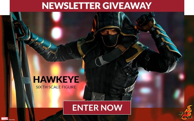 Newsletter Giveaway: Hawkeye (Deluxe Version) Sixth Scale Figure