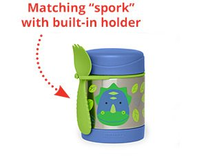 """Matching """"spork"""" with built-in holder"""