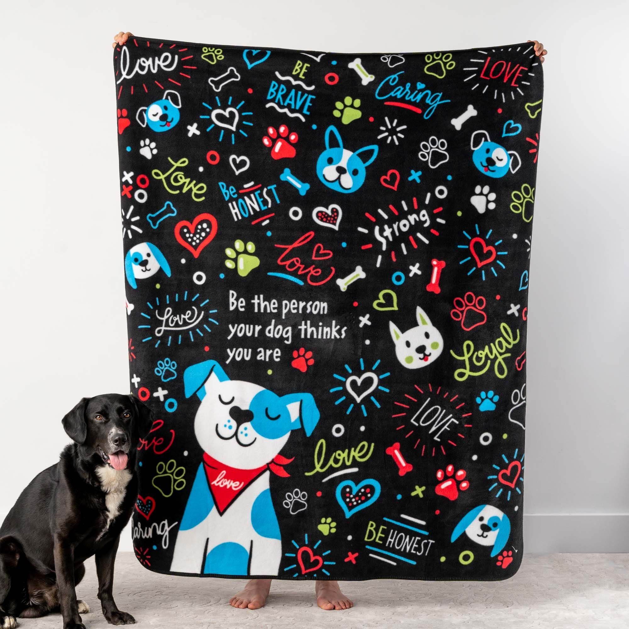Image of Give Warmth™️ Buy One Give One Fleece Blanket: Be The Person Your Dog Thinks You Are 50