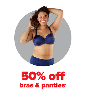 Daily Deals - 50% off bras & panties.