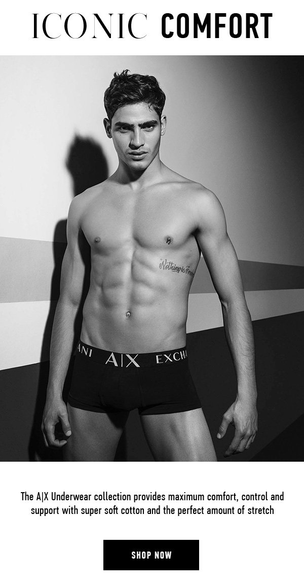 769da8a95 The Underwear Collection by Armani Exchange - Armani Exchange Email ...
