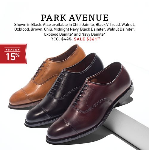 Save 15% on Park Ave