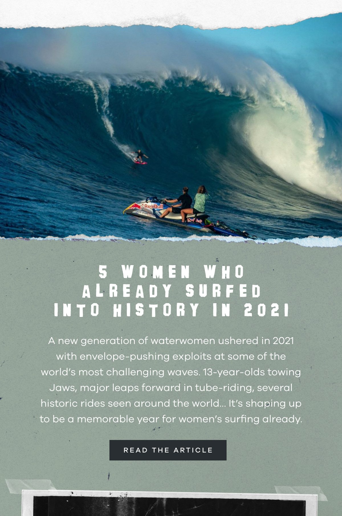 5 Women Who Already Surfed Into History in 2021
