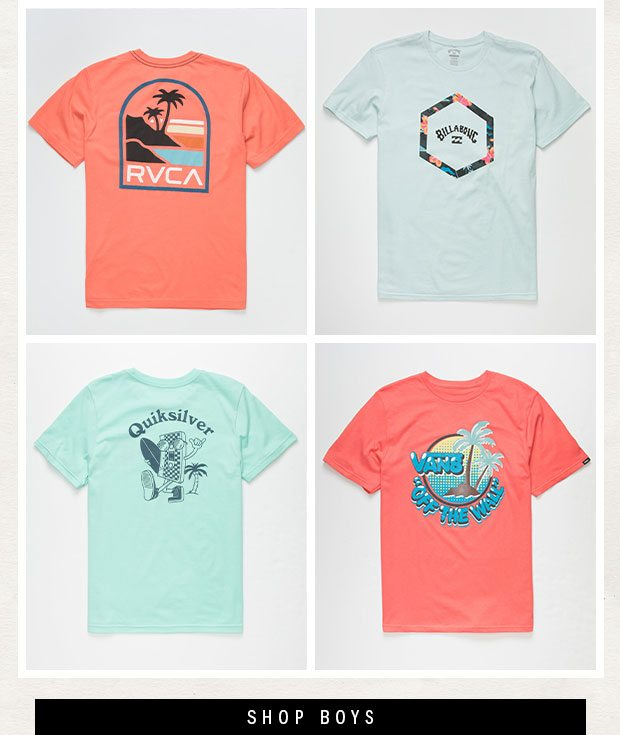 Shop Boys' Branded Graphic Tees