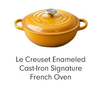 Le Creuset Enameled Cast-Iron Signature French Oven