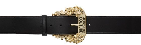 Versace Jeans Couture - Black Vintage Buckle Belt