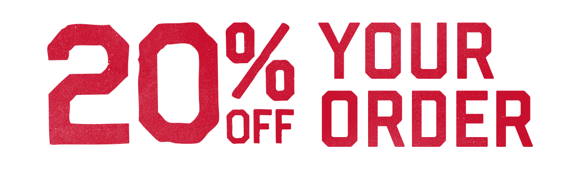 15% off* Your Order