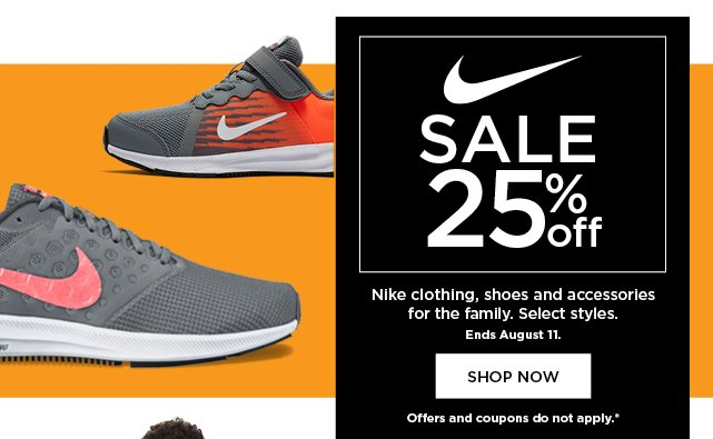 3e83030938fd0 25% off Nike for the family. Select styles. Shop now.