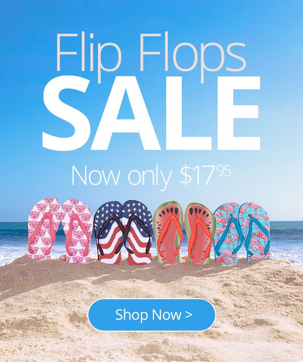 f907de0197b It s a Flip Flop SALE! Take 25% off - CafePress Email Archive