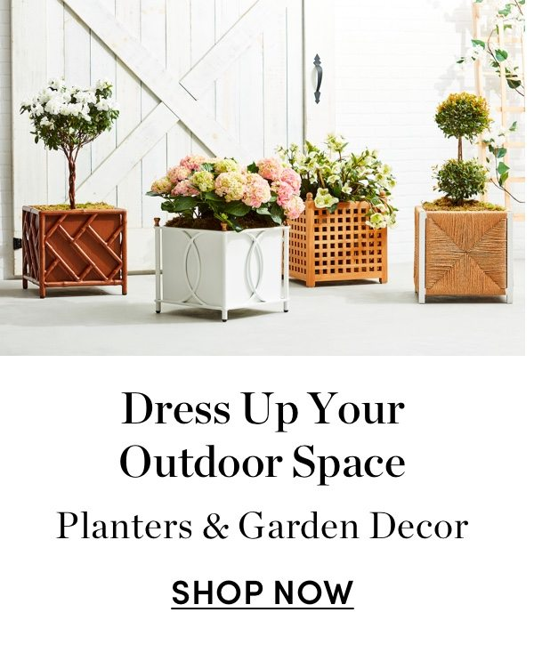 Dress Up Your Outdoor Space