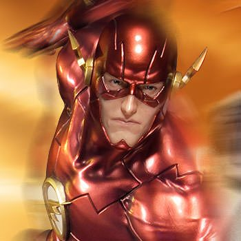 The Flash Statue by Sideshow Collectibles Justice League New 52
