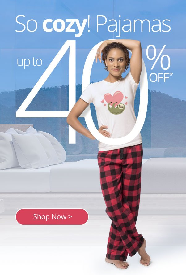 Pajama Party SALE! Up to 40% off all PJs - CafePress Email Archive 676df2085