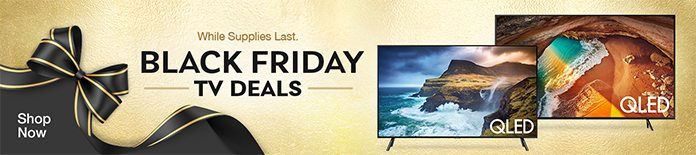 Black Friday Pricing on LG TVs. Shop Now
