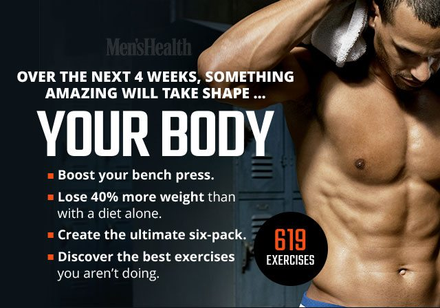 619 Ways to Take Your Workout to the Next Level - Men's Health Email
