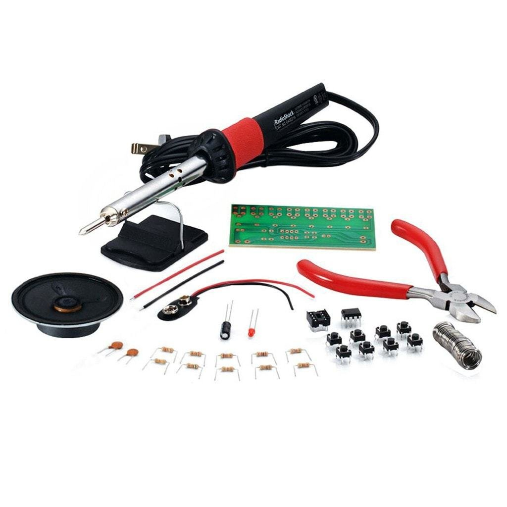 Learn to Solder Kit with 25-Watt Soldering Iron & Stand