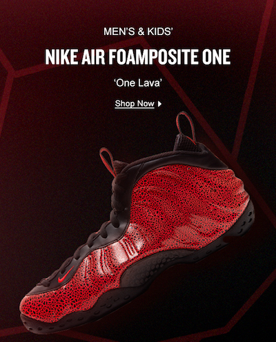 Nike Foamposite One and Pro Men s Nike Foamposite for ...
