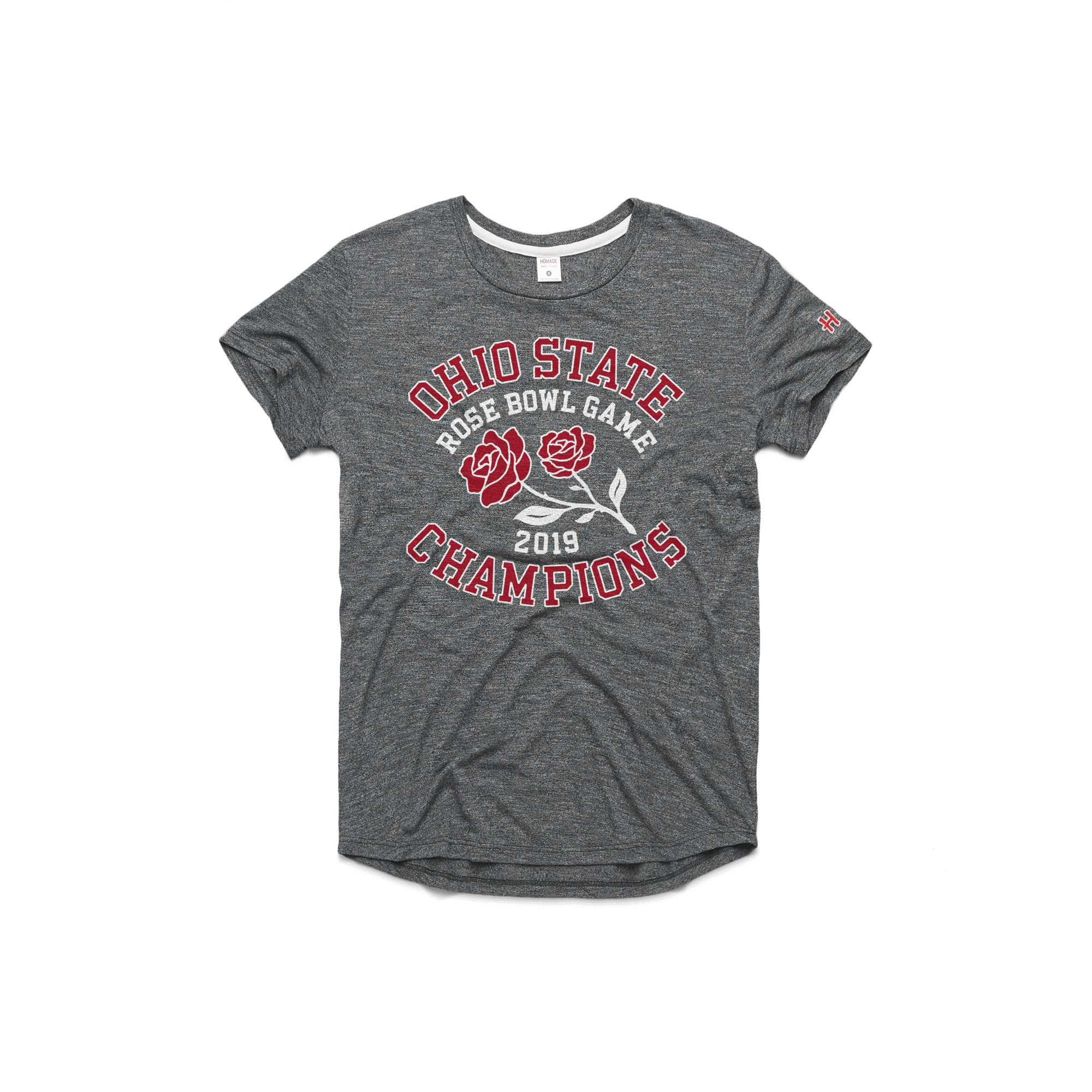Women's OSU 2019 Rose Bowl Champs Easy Tee