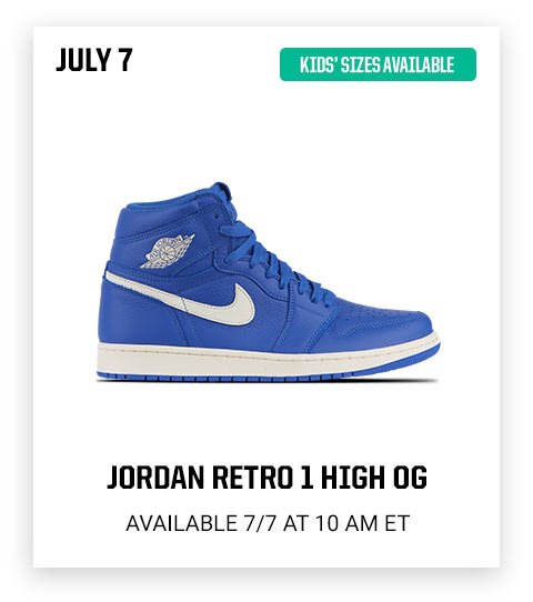 31b31e22646d7 Launch Preview  Jordan Retro 1 + Nike Epic React launching soon! - Eastbay  Email Archive