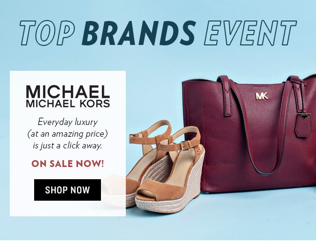 56c522aa414d Top Brands Event  MICHAEL Michael Kors