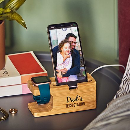 Personalised In Charge Apple Charging Station