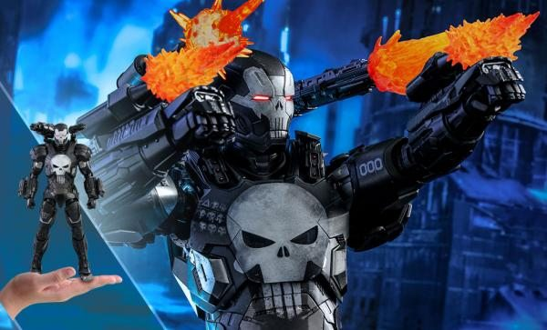 LIMITED EDITION The Punisher War Machine Armor Sixth Scale Figure by Hot Toys
