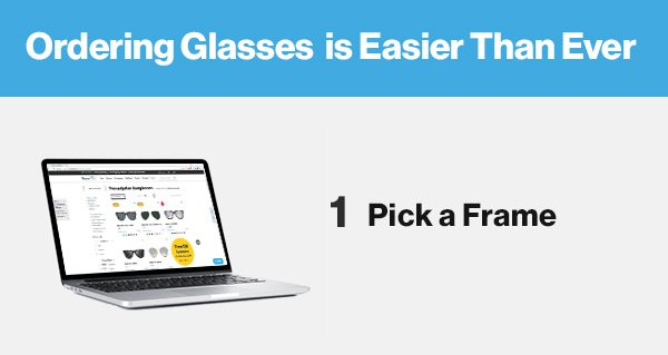 8fa742c393 3 Easy steps to buy glasses online - GlassesUSA Email Archive