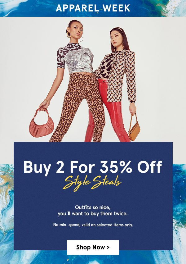 Buy 2 for 35% OFF!