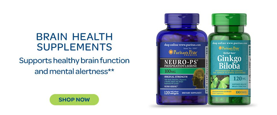 Brain Health Supplements - Supports healthy brain function and mental alertness.** Shop now.