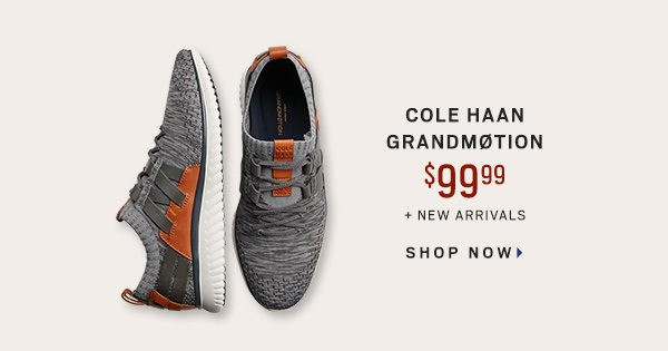Cole Haan Grandmotions $99.99 - Shop Now