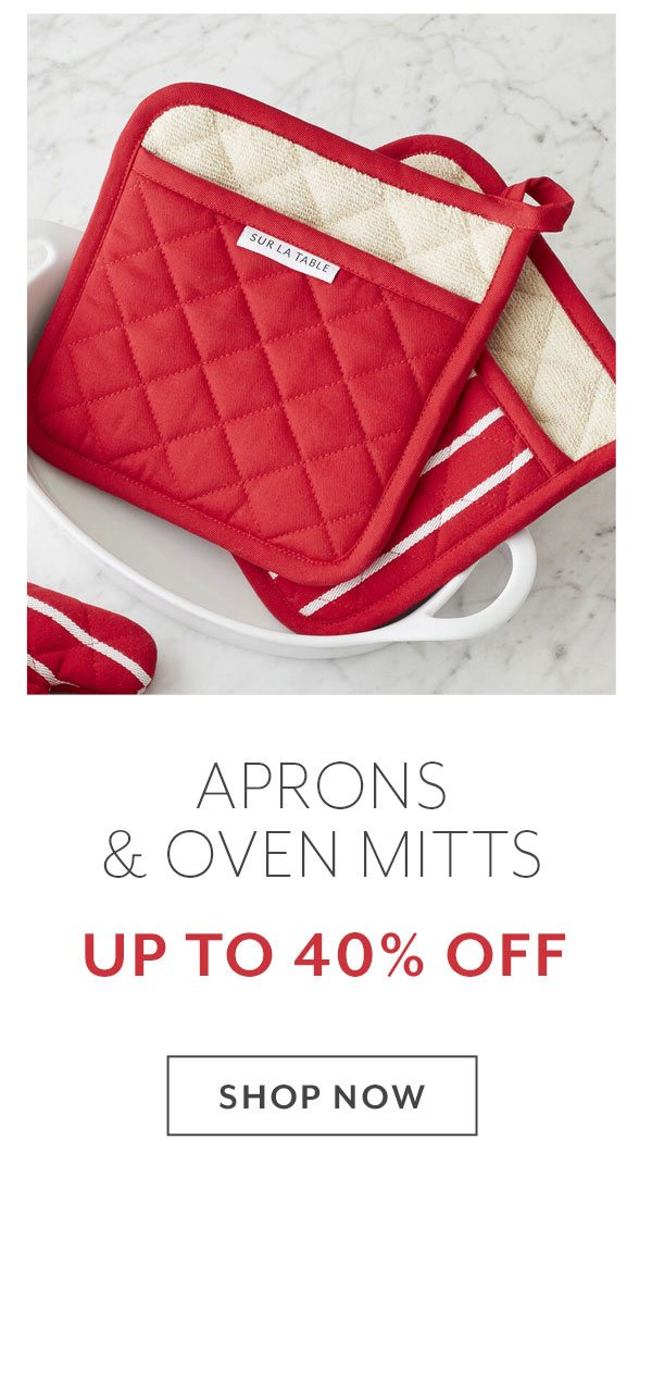 Aprons & Oven Mitts