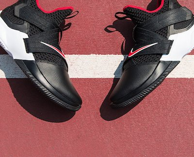 hot sale online 2501e 1612d Nike LeBron Soldier XII 'Bred' - Finish Line Email Archive