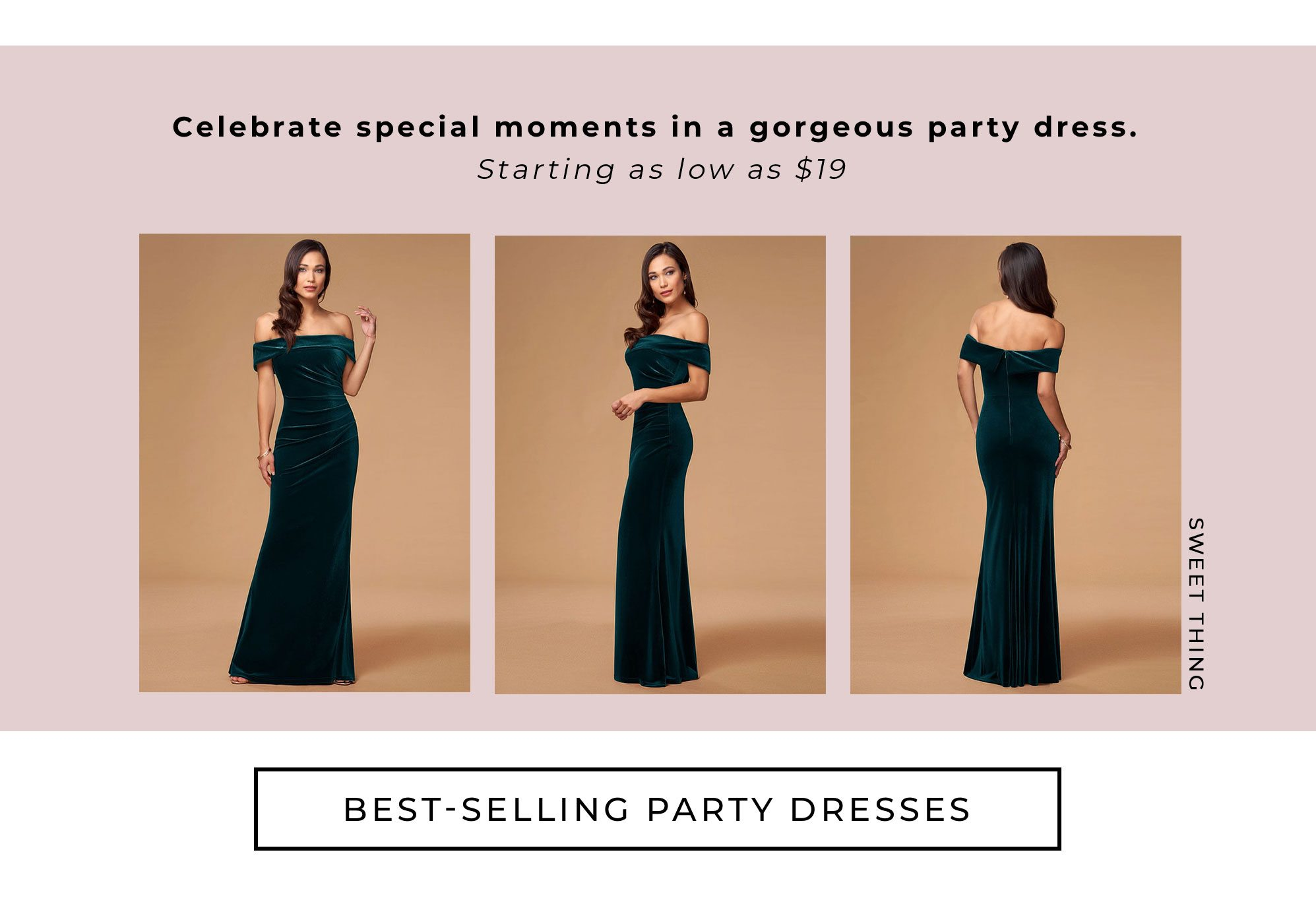 best selling party dresses