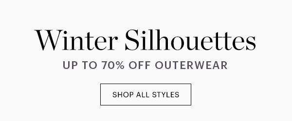 Outerwear, Up to 70% Off