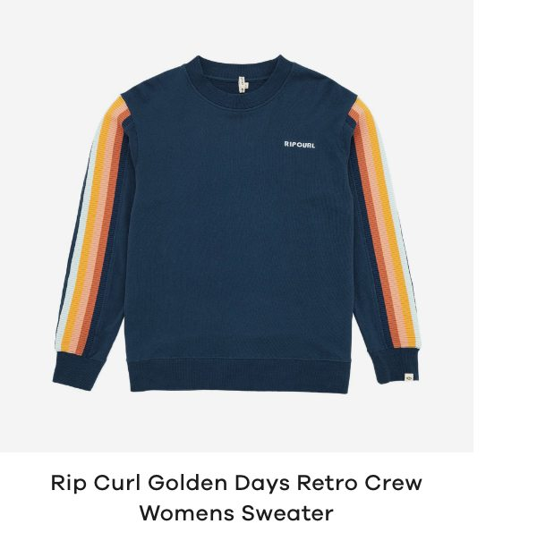 Rip Curl Golden Days Retro Crew Womens Sweater