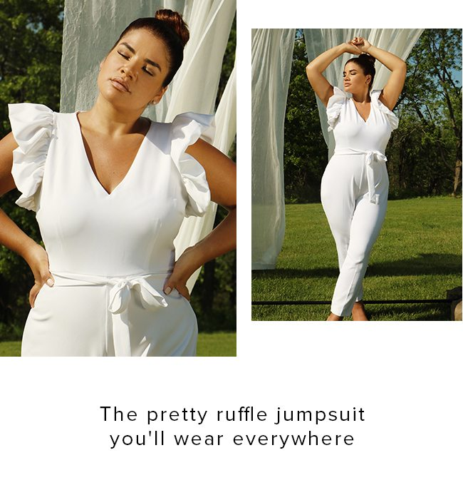 THE PRETTY RUFFLE JUMPSUIT