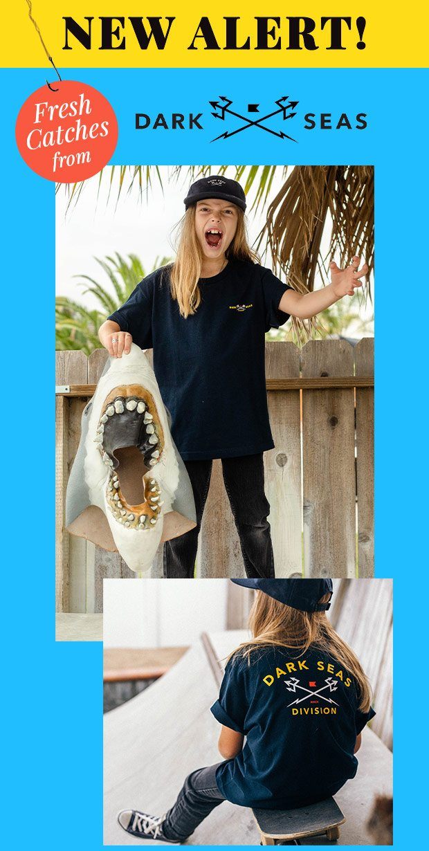 FRESH CATCHES FROM DARK SEAS FOR BOYS - Shop Now