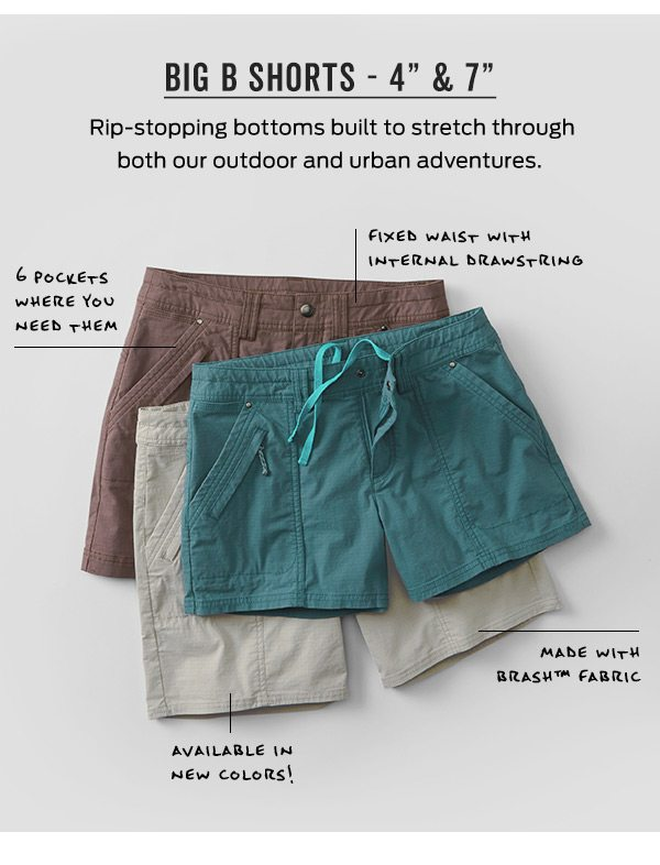 """Big B Shorts 4"""" & 7"""" 