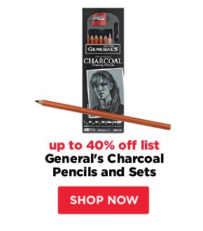 General's Charcoal Pencils and Sets - up to 40% off list