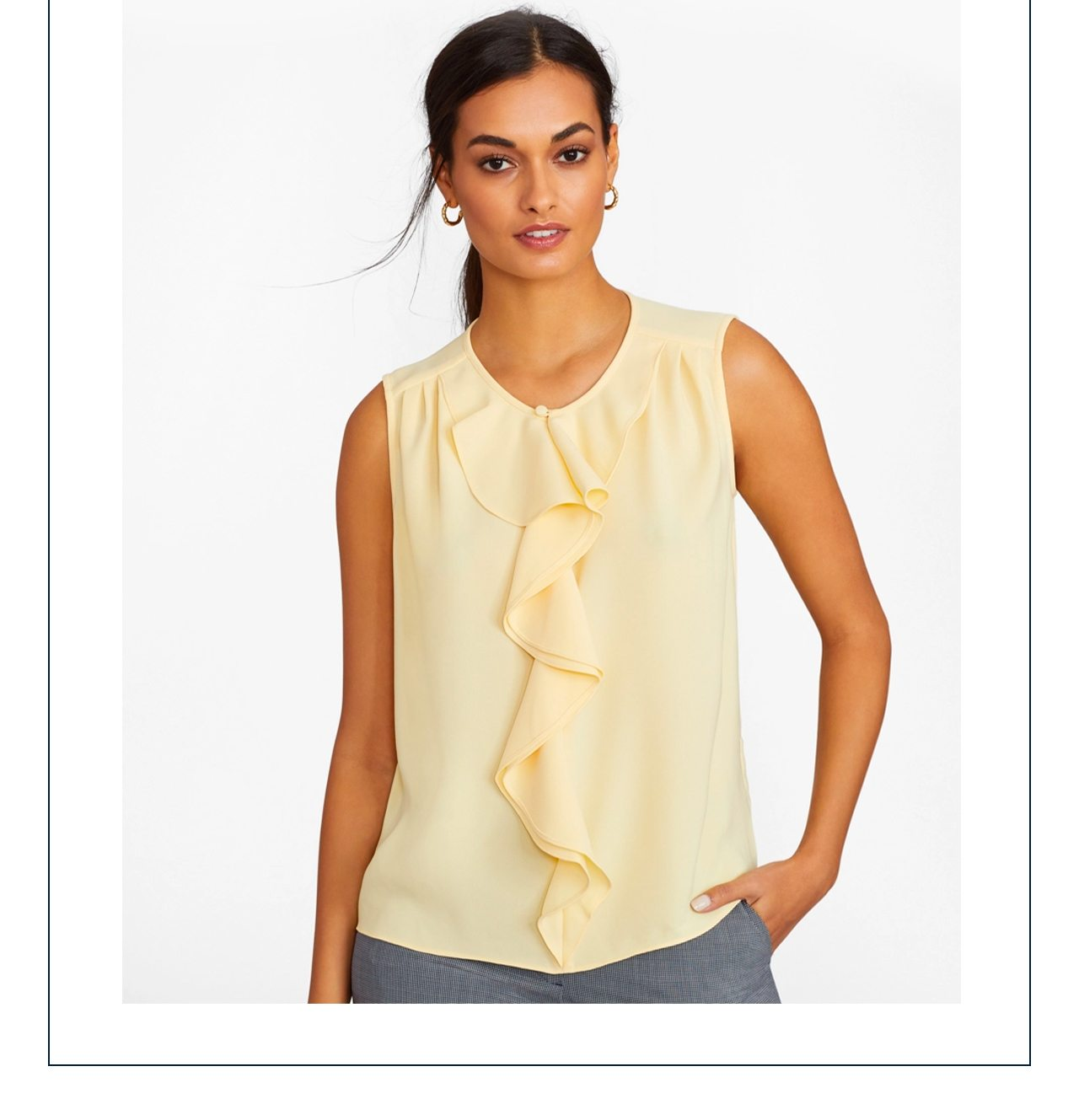 Portraits in Pastels Petal-soft hues, airy ruffles and textural fabrics for the season ahead